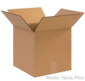100 4 X 4 X 4 Shipping Boxes Packing Storage Cartons Cardboard Mailing Box