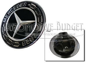 Mercedes Benz Standing Star Conversion To Flat Mount Hood Emblem New Oem