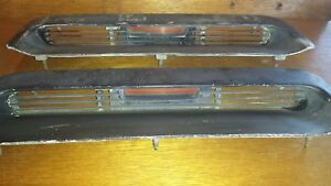 1967 1968 Ford Mustang Hood Scoop Inserts W Grill And Turn Signal Housings