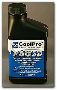 Coolpro Pag 46 Aftermarket Approved Oil 8 Oz Cp5007