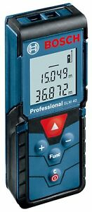 Bosch Japan Glm40 Laser Distance Measurer Meter 131 Feet 40 Meters
