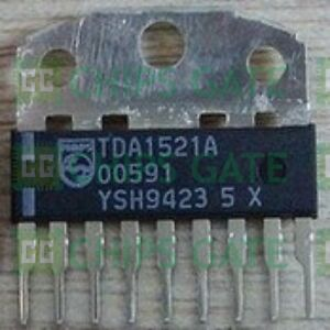 20pcs Audio Power Amplifier Ic Philips Sip 9 Tda1521