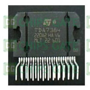 4pcs Audio Power Amplifier Ic St Zip 25 Tda7384a E tda7384a