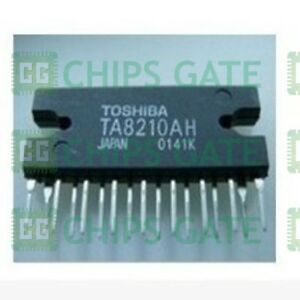 3pcs Audio Power Amplifier Ic Toshiba Hzip 17 Ta8210ah