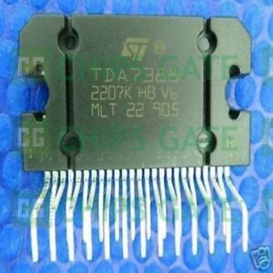 9pcs Audio Power Amplifier Ic St Zip 25 Tda7388
