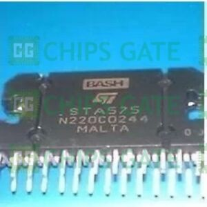 5pcs Audio Power Amplifier Ic St Zip 27 Sta575