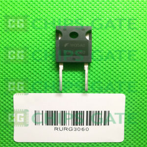 7pcs Rurg3060 Encapsulation to 3p 30a 600v Ultrafast Diode30a 600v
