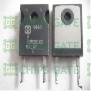 3pcs Rurg30100 Encapsulation to 247 30a 1000v Ultrafast Diode
