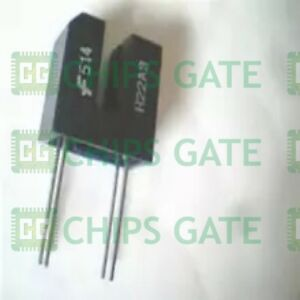 8pcs H22a3 Encapsulation dip 4 slotted Optical Switch Package Slotted