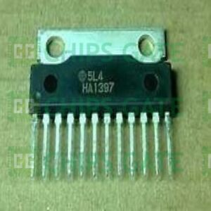 4pcs Audio Power Amplifier Ic Hitachi Sip 12 Ha1397