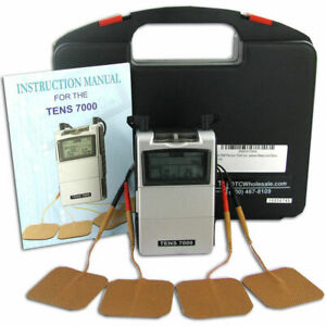 New Tens 7000 Digital Back Pain Relief System Unit For Muscle Joint Aches Otc