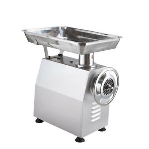 New 500kg h Commercial Electric Meat Grinder Meat Mincer Mincing Machine 220v