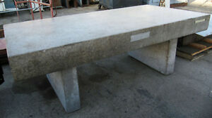 Standridge 8 X 4 Granite Surface Plate Inspection Table 96 X 48 X 8 thick