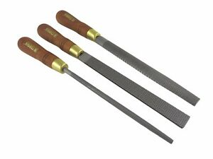 Narex 3 Piece Set 200 Mm Cabinetmaker Wood Rasp Fine Cut 854252