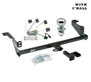 Class 1 Trailer Hitch Package W 2 Ball For 2008 2011 Ford Focus 608860