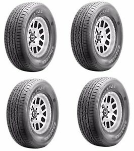 Qty Four 4 New General Grabber Stx Tire 245 70r16 107s Fr
