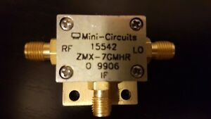 Mini circuits Frequency Mixer Zmx 7gmhr Rf lo 3700 To 7000mhz If 0 1000mhz