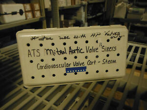 Mitral Set Of Aortic Ap Valve Sizers With Autoclave Case