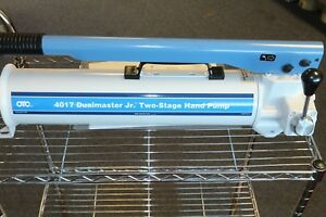 Otc 2 speed Hydraulic Hand Pump 4 way Valve For Single Double Acting Cylinders