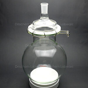 5000ml glass Reaction Flask 5l 24 40 one neck laboratory Round Bottom Reactor