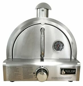 Mont Alpi Mapz ss Table Top Gas Pizza Oven Large Stainless Steel