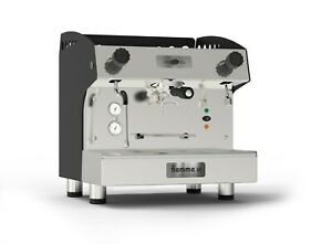 new Fiamma Caravel Commercial 1 Group Cappuccino Espresso Machine Tall Cup