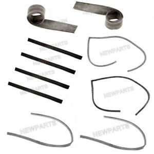 For Porsche 356a B C Sc Coupe Front Left Right Lower Door Seal Kit Oem