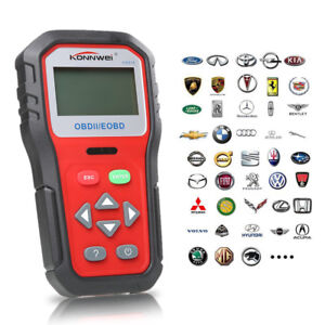 Kw818 Auto Obd Obd2 Obdii Can Engine Car Code Reader Scanner Diagnostic Tool