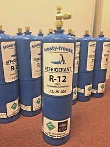 R12 Refrigerant 12 Virgin Pure R 12 28 Oz Includes On off Valve 1 75 Lbs