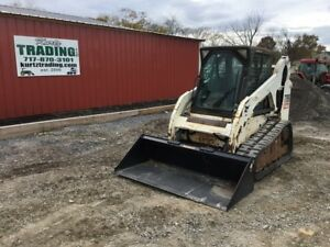 2008 Bobcat T190 Tracked Skid Steer Loader W Cab