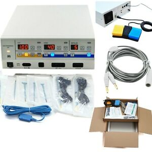 Electrosurgical Unit Diathermy Machine Surgery Operate Electrocautery Clinical
