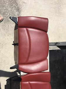 Porsche 911 993 Rear Seats Chestnut Red Rare Oem