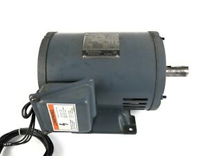 Westinghouse Sbdp Ac Lathe Motor 3 Phase 3 Hp 1735 Rpm 230 460v 05 3h4sbdp mkb