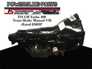Tsi Th 400 Full Manual Transmission Reverse W Trans Brake Chevy Turbo 400 T400