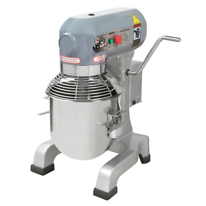 New Adcraft Planetary 10 Qt Mixer Etl nsf With 3 Attachments Pm 10