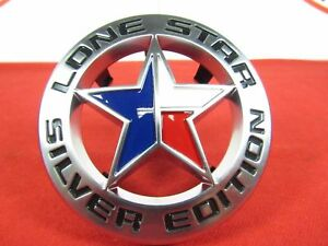 Dodge Ram 2500 3500 Lone Star Silver Edition Front Grille Badge New Oem Mopar