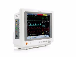 Comen C80 12 1 Inch Touch Screen Patient Monitor With Standard Parameters