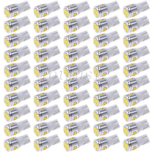 50pcs T10 White 168 194 Cree Led Canbus Bulb Back Up Reverse Light Bulb
