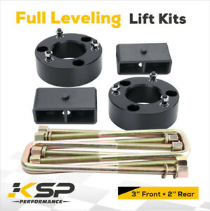 3 Front 2 Rear Full Leveling Lift Kit 2007 2020 Silverado Gmc Sierra 1500