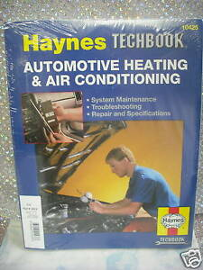 Air Conditioning Heating Automotive Repair Manual