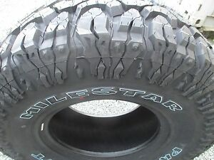 4 New 35x12 50r15 Milestar Mud Tires 35125015 35 12 50 15 M t Mt 3512 5015 R15