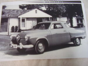 1951 Studebaker Champion 2dr Coupe 11 X 17 Photo Picture