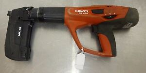 Hilti Dx 460 Mx 72 Automatic Powder Actuated Cement Fastener Tool
