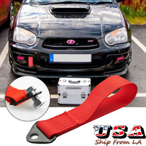 High Strength Front Rear Bumper Racing Tow Strap Hook For Volkswagen Golf Gti