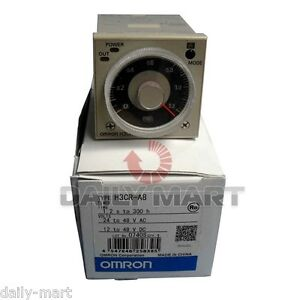 Omron Timer H3cr a8 H3cra8 24 48vac 12 48vdc New In Box Nib Free Ship