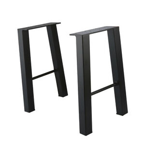 16 Industry Coffee Table Leg Metal Steel Chair Bench Legs Set Of 2