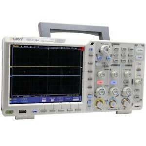 Owon Xds3102a Waveform Oscilloscope Probes 100mhz 1g Datalogger Multimeter Vga