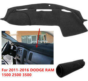 For 2011 2010 2015 2016 Dodge Ram 1500 2500 3500 Dashboard Dash Cover Mat Carpet