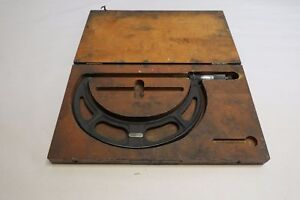 Starrett No 436 7 8 Outside Micrometers With Case