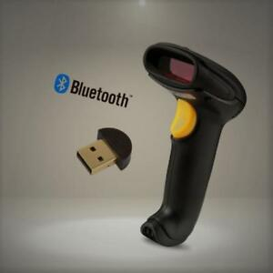 Welquic Wireless Bluetooth Barcode Scanner Portable Handheld Usb Laser Reader Fo